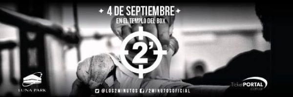 DOS MINUTOS Celebrará 29 años de carrera en el Luna Park @ Estadio Luna Park | Buenos Aires | Ciudad Autónoma de Buenos Aires | Argentina