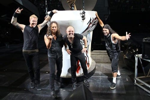 Metallica MetalUpYourAss Tarima