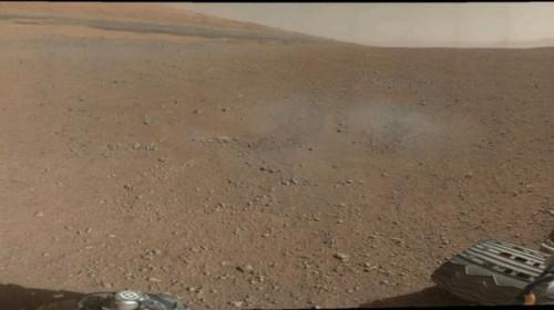 """Fotografía de Marte tomada por el explorador """"Curiosity"""""""
