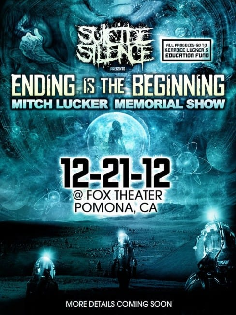 Suicide Silence Mitch Lucker Memorial Show