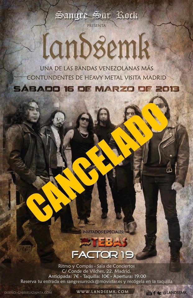 Landsemk España Cancelado