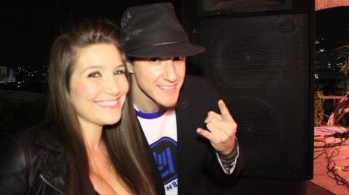 Hard Rock Rising Frank Hernandez y Diana Aguiar