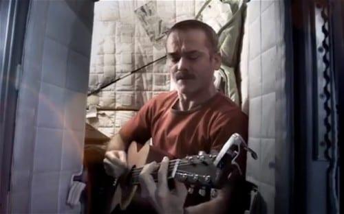 Chris Hadfield - Astronauta - Bowie