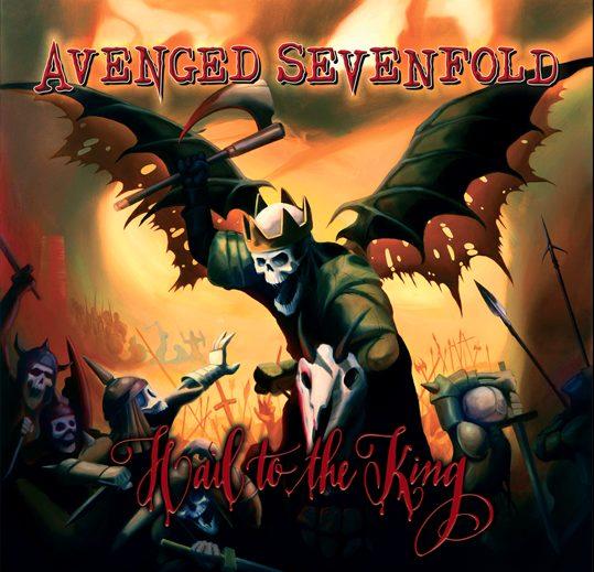avengedsevenfold - Hail cover