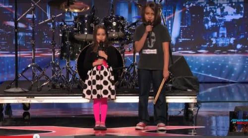 Americas Got Talent - Black Metal Kids