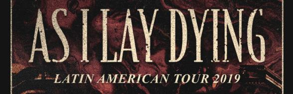 AS I LAY DYING en Santiago @ Blondie
