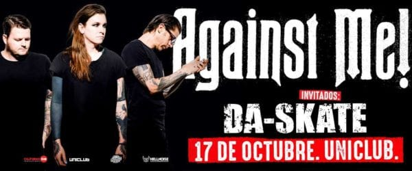 AGAINST ME! en Buenos Aires @ Uniclub | Buenos Aires | Argentina