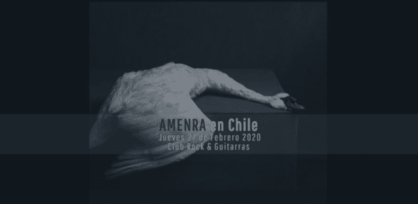 AMENRA en Santiago 2020 @ Club Rock y Guitarras