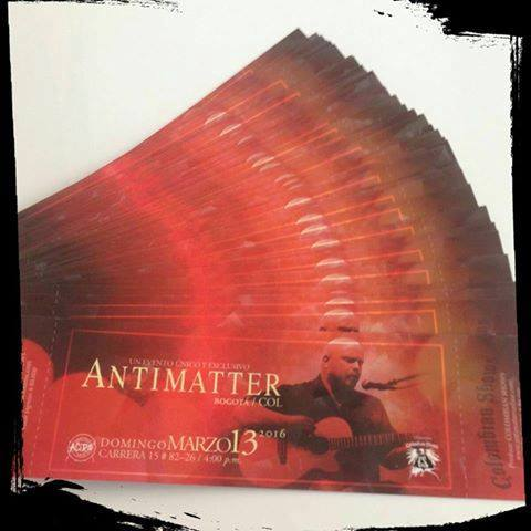Antimatter Entradas