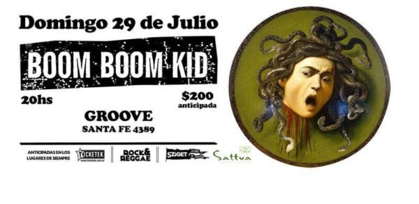 BOOM BOOM KID en Buenos Aires @ Groove | Buenos Aires | Argentina