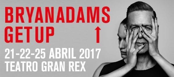 BRYAN ADAMS en el Gran Rex, Buenos Aires @ Teatro Gran Rex | Ciudad Autónoma de Buenos Aires | Argentina