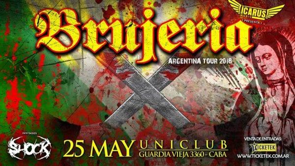 BRUJERÍA en Buenos Aires @ Uniclub | Buenos Aires | Argentina