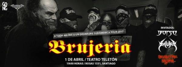 BRUJERÍA en Santiago, Chile @ Teatro Teletón | Santiago | Región Metropolitana | Chile