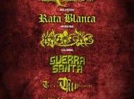 Falta poco para el show de CARCASS, RATA BLANCA y MASACRE en @SuenaCaracas. Éstos son los horarios de las bandas