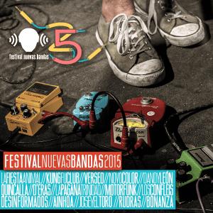 """¿Buscando nueva música para escuchar? Descarga gratis el compilado """"Festival Nuevas Bandas 2015"""""""