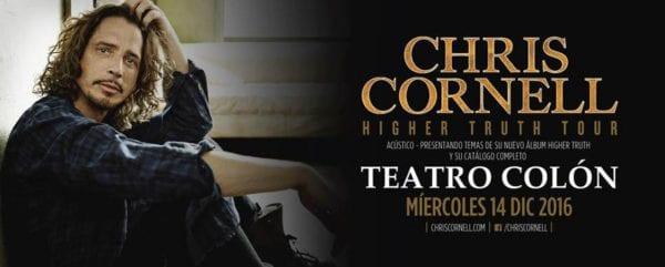 CHRIS CORNELL dará show acústico en el Teatro Colón de Buenos Aires @ Teatro Colón   Buenos Aires   Ciudad Autónoma de Buenos Aires   Argentina