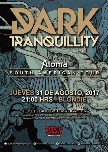 DARK TRANQUILLITY en Chile @ Centro de Eventos Blondie | Santiago | Región Metropolitana | Chile