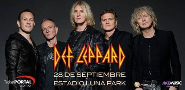 DEF LEPPARD en el Estadio Luna Park, Buenos Aires @ Estadio Luna Park. | Buenos Aires | Argentina