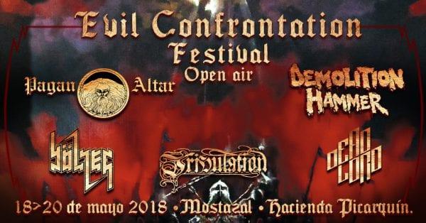 EVIL CONFRONTATION FESTIVAL en Chile @ Hacienda Picarquin de Mostazal | VI Región | Chile