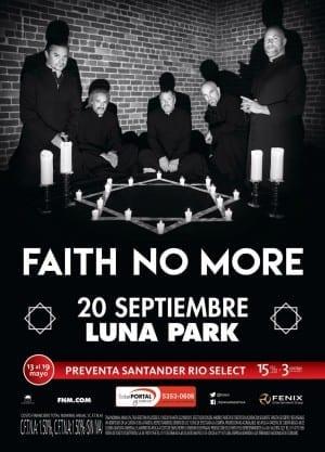 Tras una larga espera, FAITH NO MORE regresa a Buenos Aires este 20 de Septiembre @fenix
