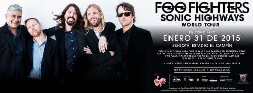 Foo Fighters Colombia