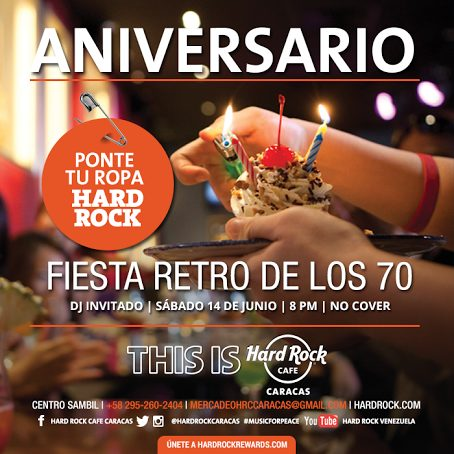 Hard Rock Aniversario