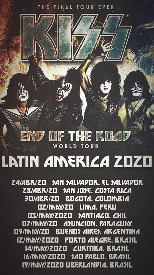 Kiss Flyer Tour