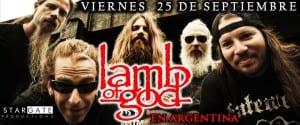 LAMB OF GOD vuelve a la Argentina este 25 de Septiembre y estremecerá Buenos Aires @GSPress1
