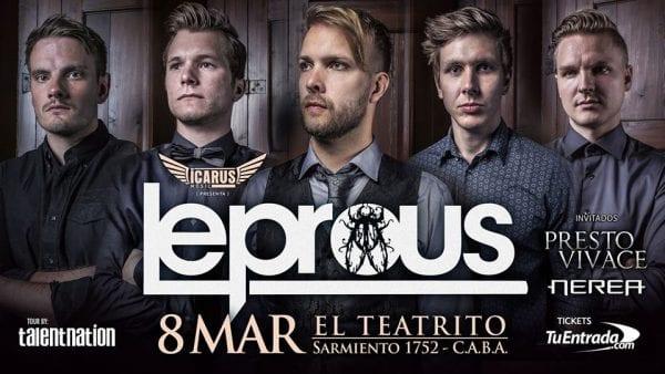 LEPROUS en Argentina @ El Teatrito