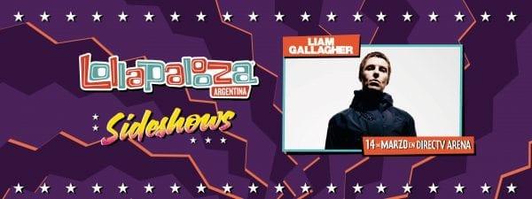 LIAM GALLAGHER #LollapaloozaSideshows @ DirecTV Arena | Tortuguitas | Buenos Aires | Argentina