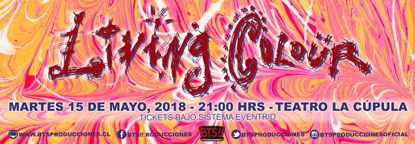 LIVING COLOUR en Chile @ Teatro La Cúpula | Santiago | Región Metropolitana | Chile