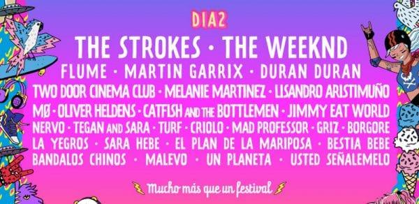 Lollapalooza Argentina 2017 - THE STROKES @ Hipódromo de San Isidro | San Isidro | Buenos Aires | Argentina