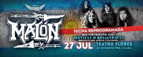 MALÓN en Buenos Aires @ Teatro Flores