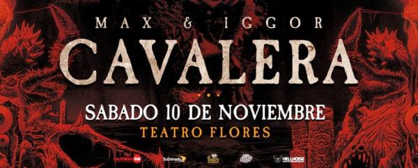 Max & Iggor Cavalera (SEPULTURA) en Buenos Aires @ Teatro  Flores   Buenos Aires   Argentina