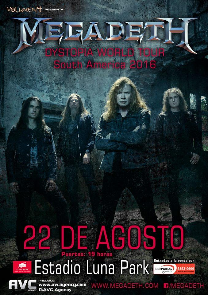Megadeth Luna Park