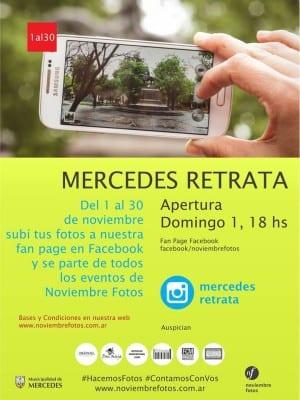 Mercedes Retrata Flyer