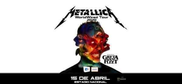 METALLICA en Santiago 2020 - CANCELADO @ Estadio Nacional