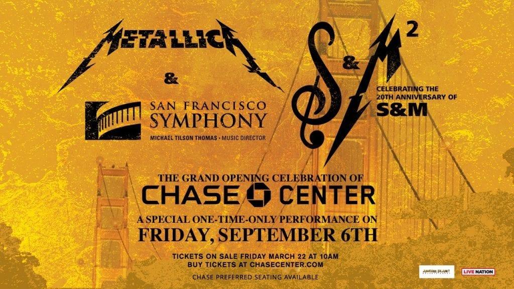 S&M 2: METALLICA volverá a tocar con la Sinfónica de San Francisco 20 años después