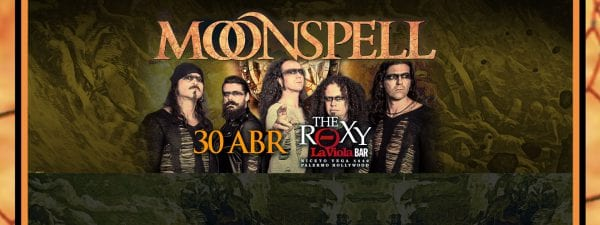 MOONSPELL en Buenos Aires @ The Roxy Live | Buenos Aires | Argentina