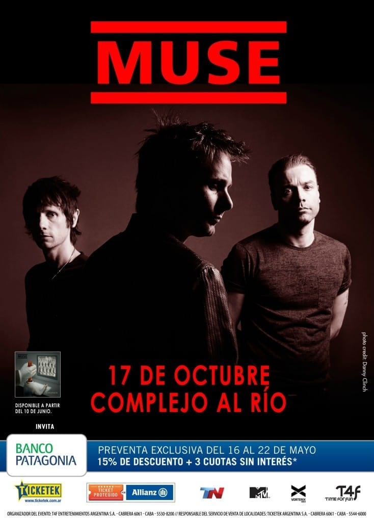 Muse Bs As Afiche