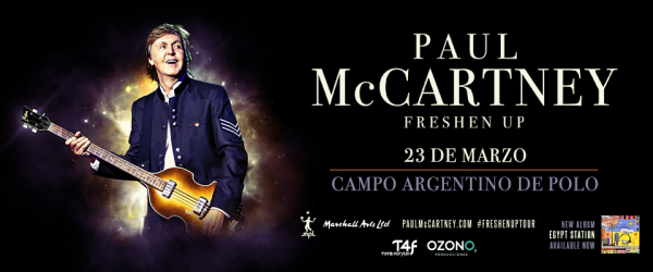 Paul McCartney en Argentina @ Campo Argentino de Polo