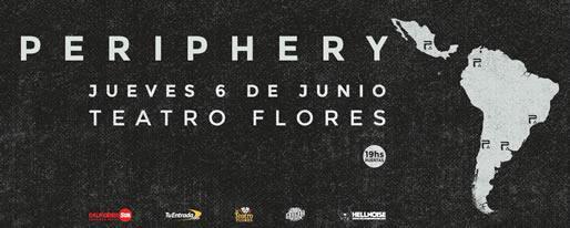 PERIPHERY en Buenos Aires @ Teatro Flores