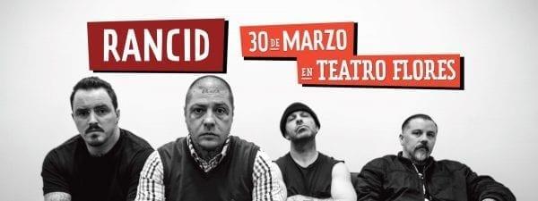 RANCID en Buenos Aires por primera vez #LollapaloozaSideshow @ Teatro Vorterix | Ciudad Autónoma de Buenos Aires | Argentina