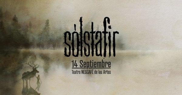 SÓLSTAFIR en Chile por primera vez @ Teatro Nescafé De Las Artes | Providencia | Región Metropolitana | Chile