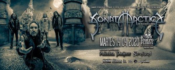 SONATA ARCTICA en Buenos Aires 2020 - CANCELADO @ Teatro Flores
