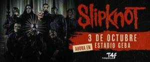 SLIPKNOT en Buenos Aires, Argentina