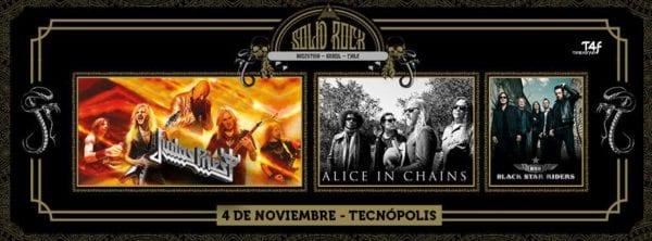 Solid Rock: JUDAS PRIEST, ALICE IN CHAINS y BSR en Buenos Aires @ Tecnópolis | Villa Martelli | Buenos Aires | Argentina