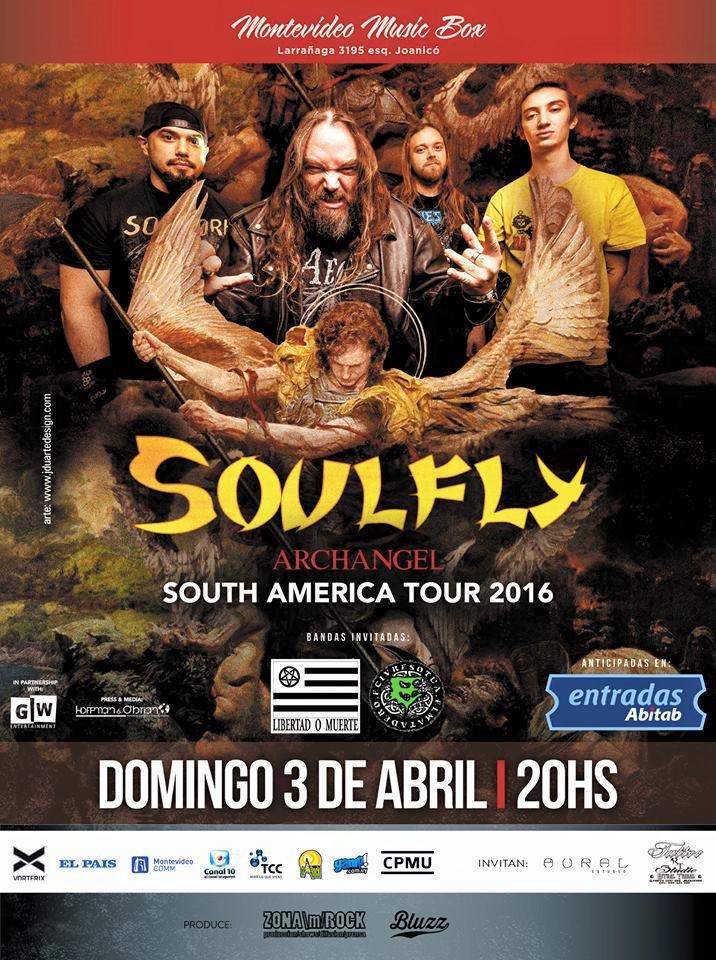 Soulfly Uruguay