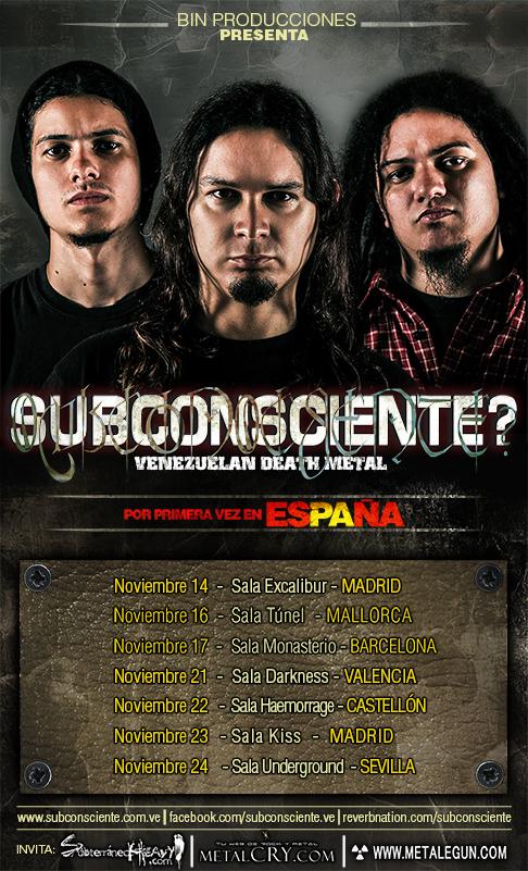 Subconsciente flyer España