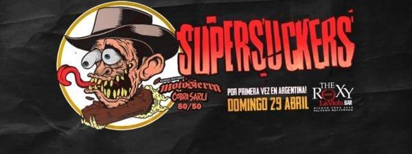 SUPERSUCKERS en Buenos Aires @ The Roxy La Viola Bar | Buenos Aires | Argentina